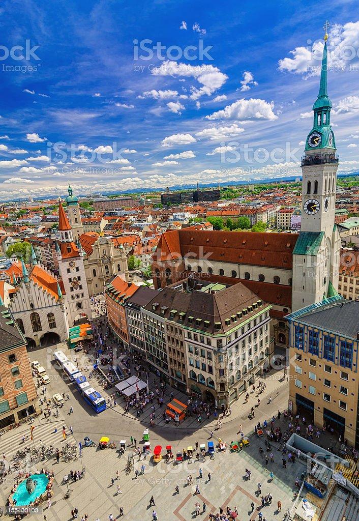 Munich Cityview stock photo