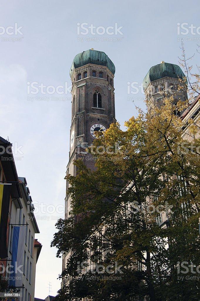 Munich Clock Tower stock photo