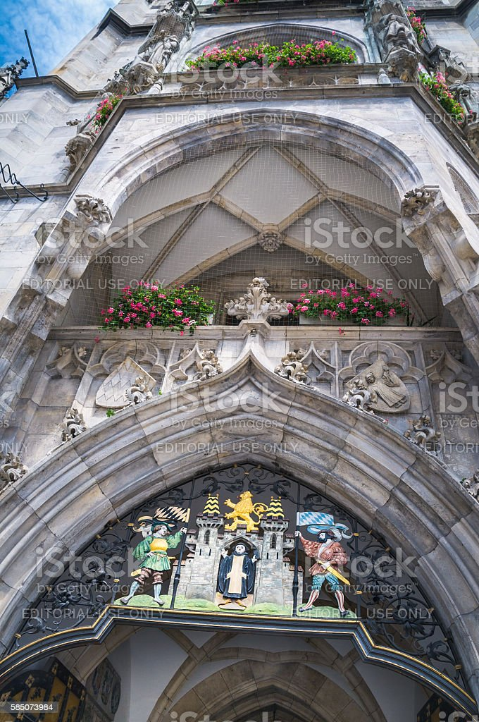 Munich Coat of Arms stock photo