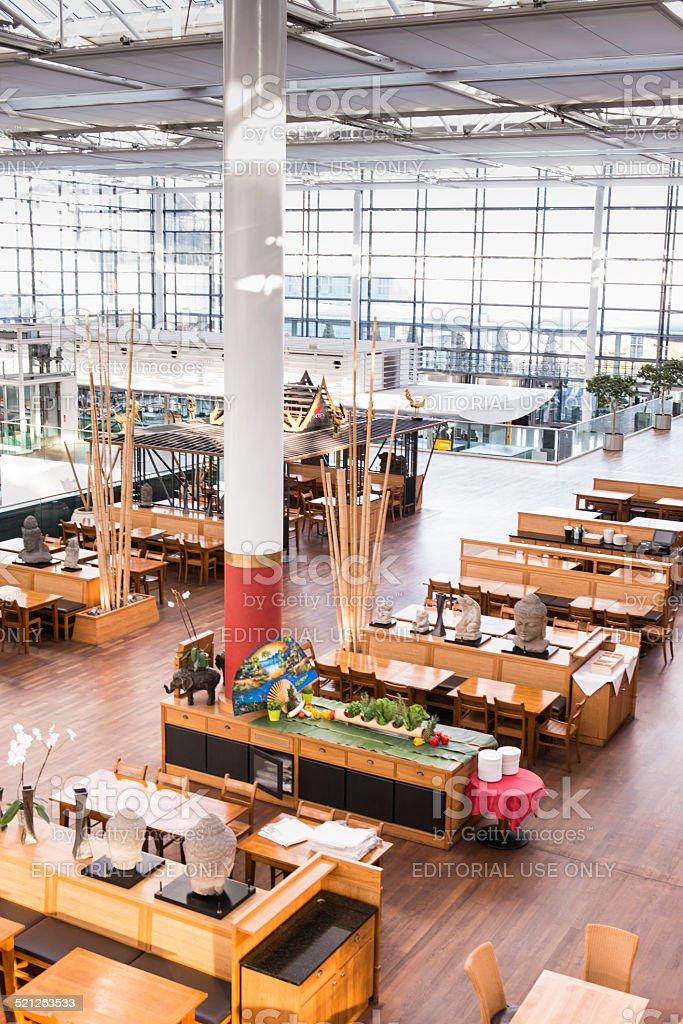 Munich - Frantz Josef Strauss Airport stock photo