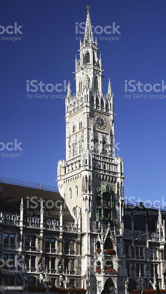 Munich Glockenspiel royalty-free stock photo