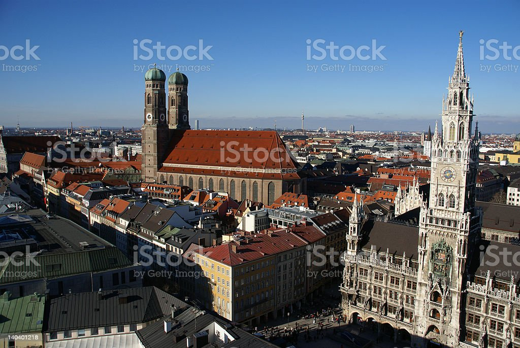 Munich - Historic Center royalty-free stock photo