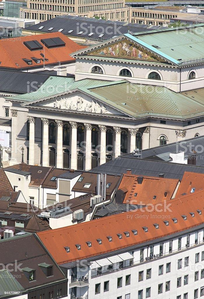 Munich National Theatre royalty-free stock photo