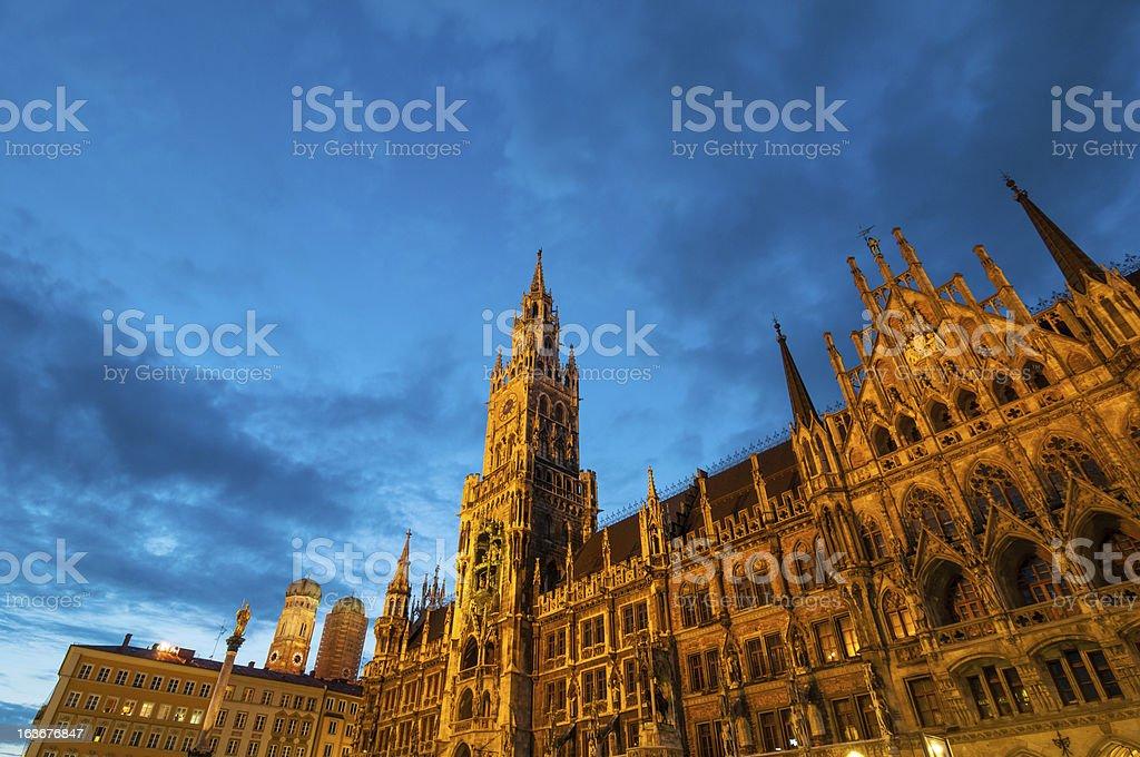 Munich New Tower Hall stock photo