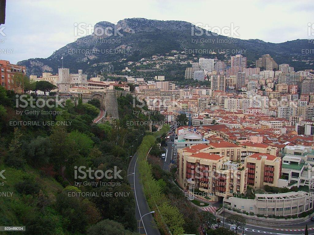 Monaco - Quartiere del porto stock photo