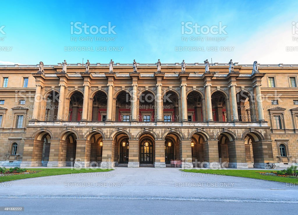 Munich Residenz - Bavaria - Germany stock photo