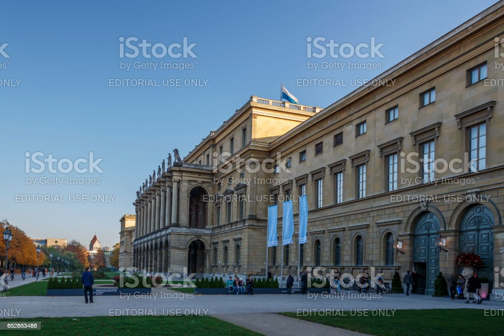 Munich Residenz, Germany, 2015 stock photo