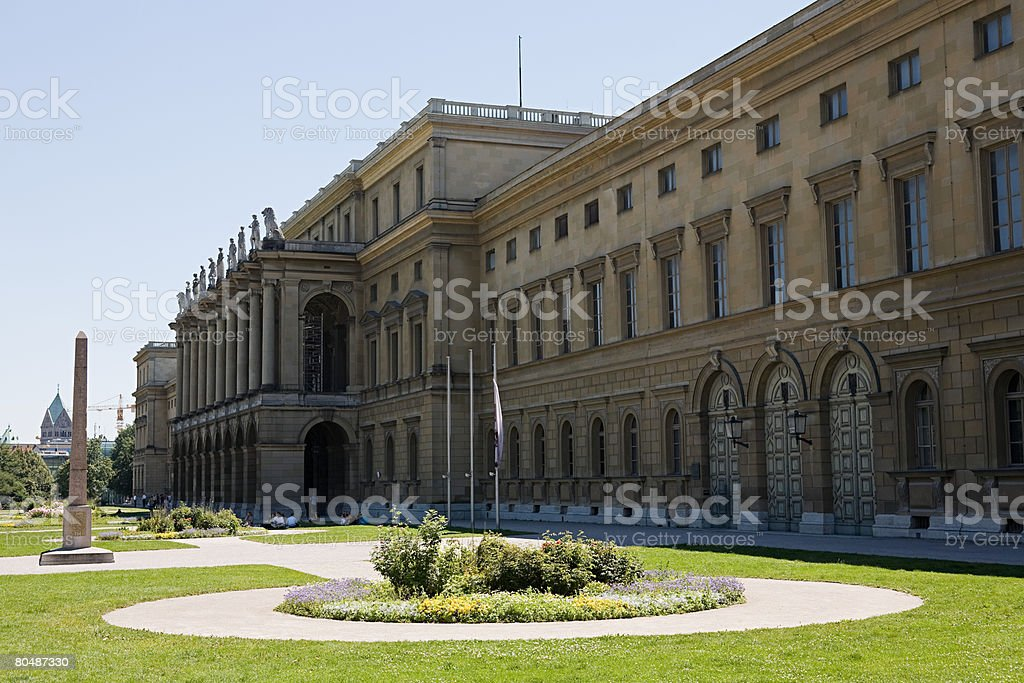 Munich residenz stock photo