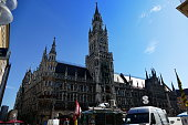 Munich. Town Hall with Münchner Kindel on the tower top.