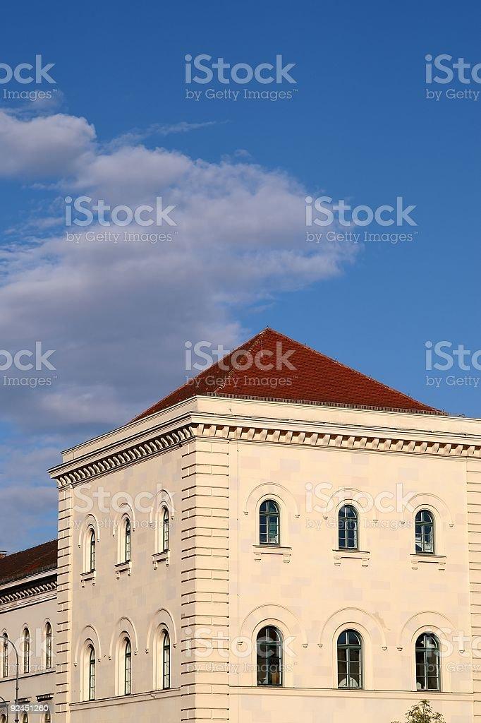 Munich University royalty-free stock photo