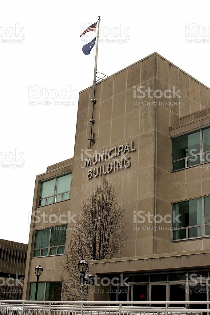 Municipal Building royalty-free stock photo