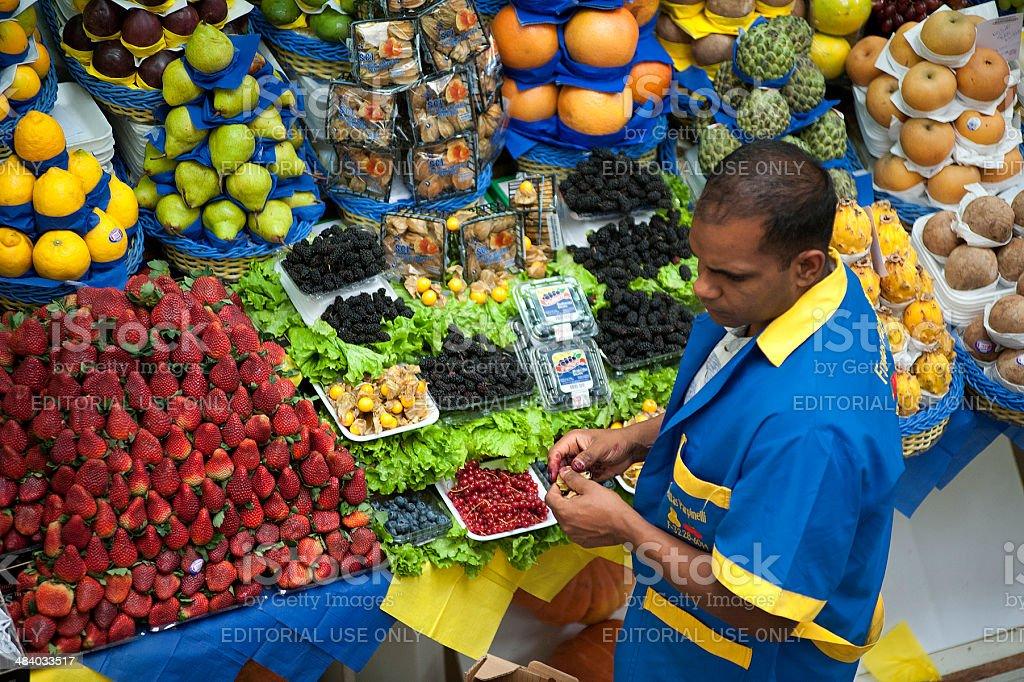 Municipal Market royalty-free stock photo