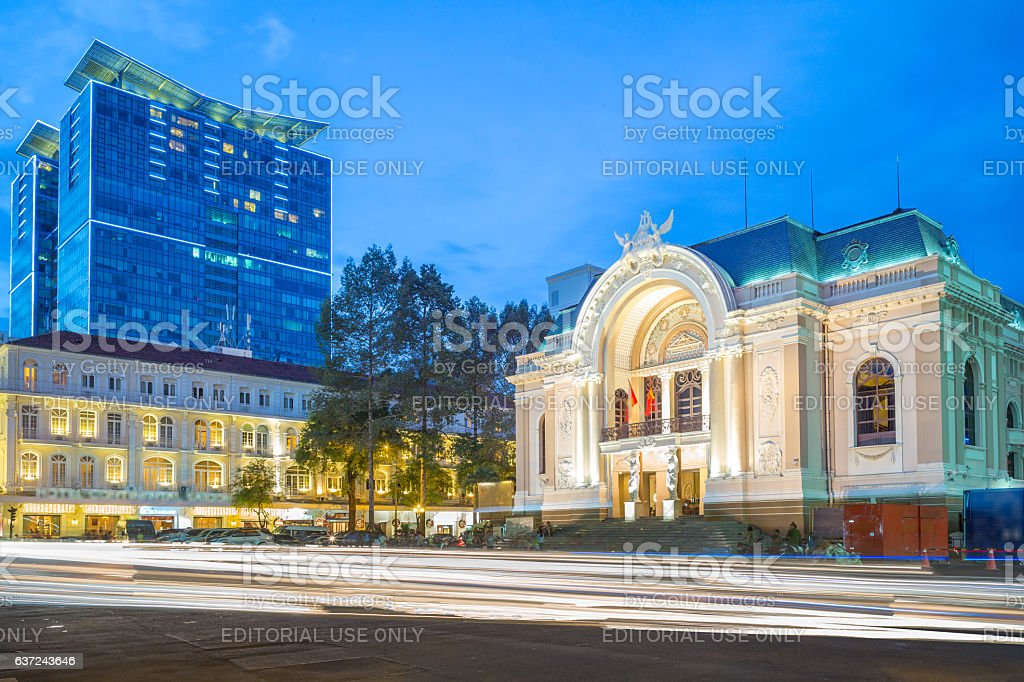 Municipal Theatre stock photo