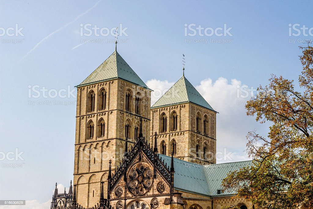 Munster's cathedral royalty-free stock photo