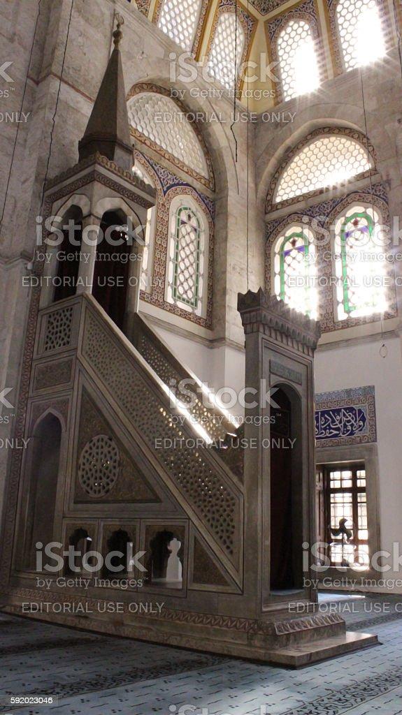 Muradiye Mosque Стоковые фото Стоковая фотография