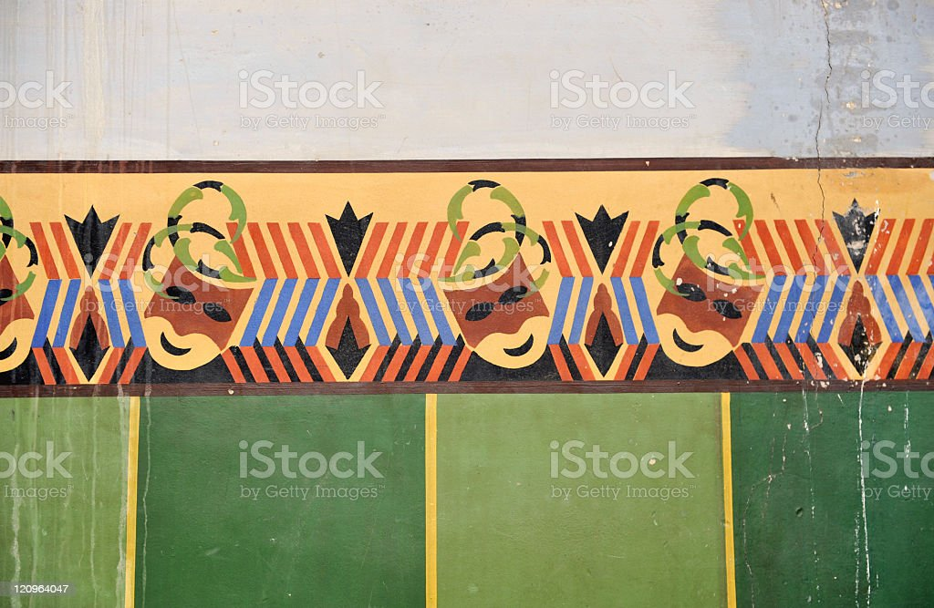 Mural painting royalty-free stock photo