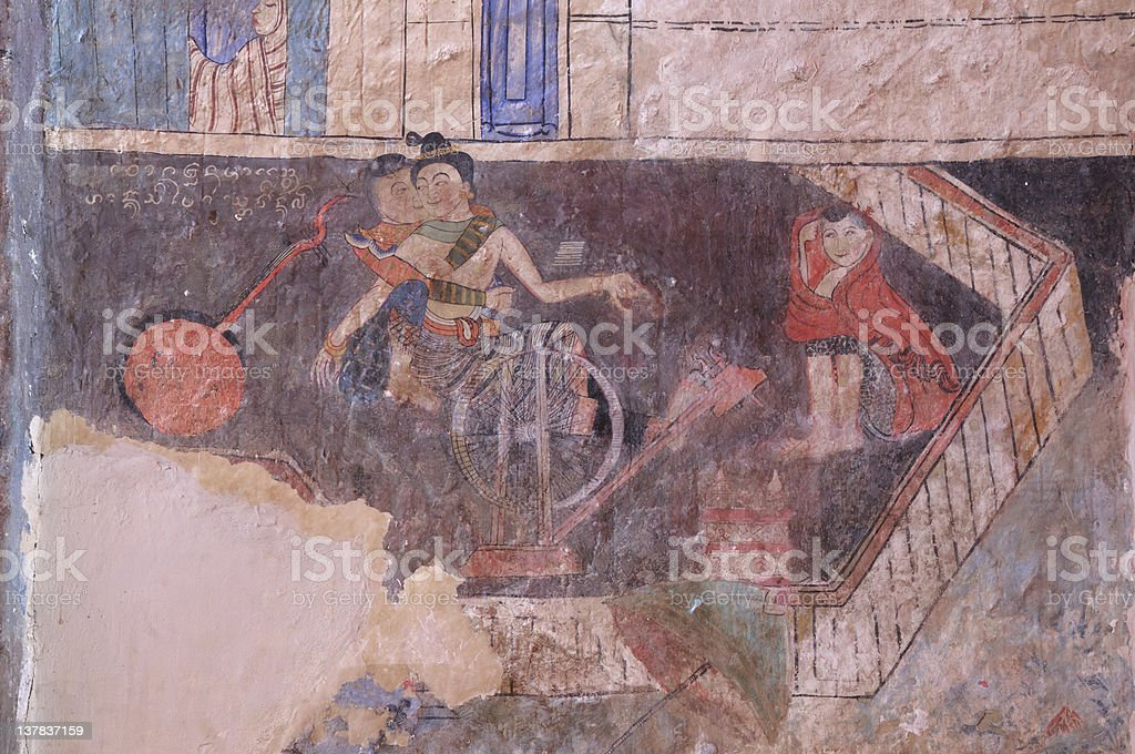 Mural Painting stock photo