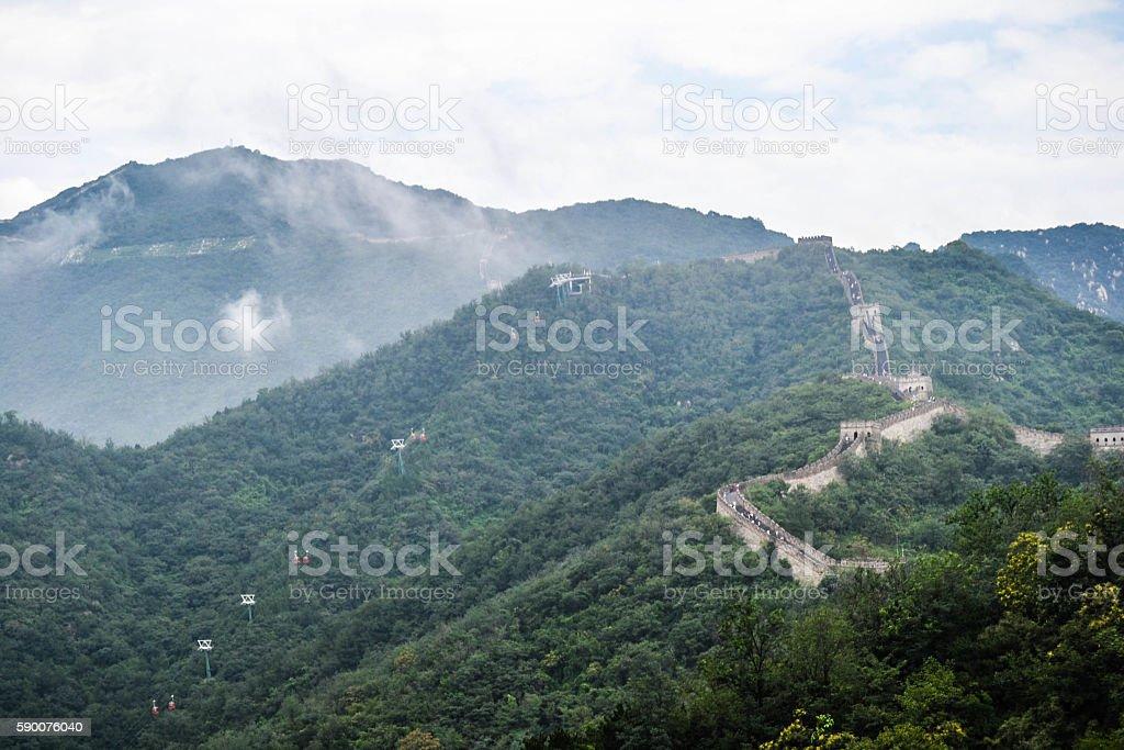 Muralla China stock photo