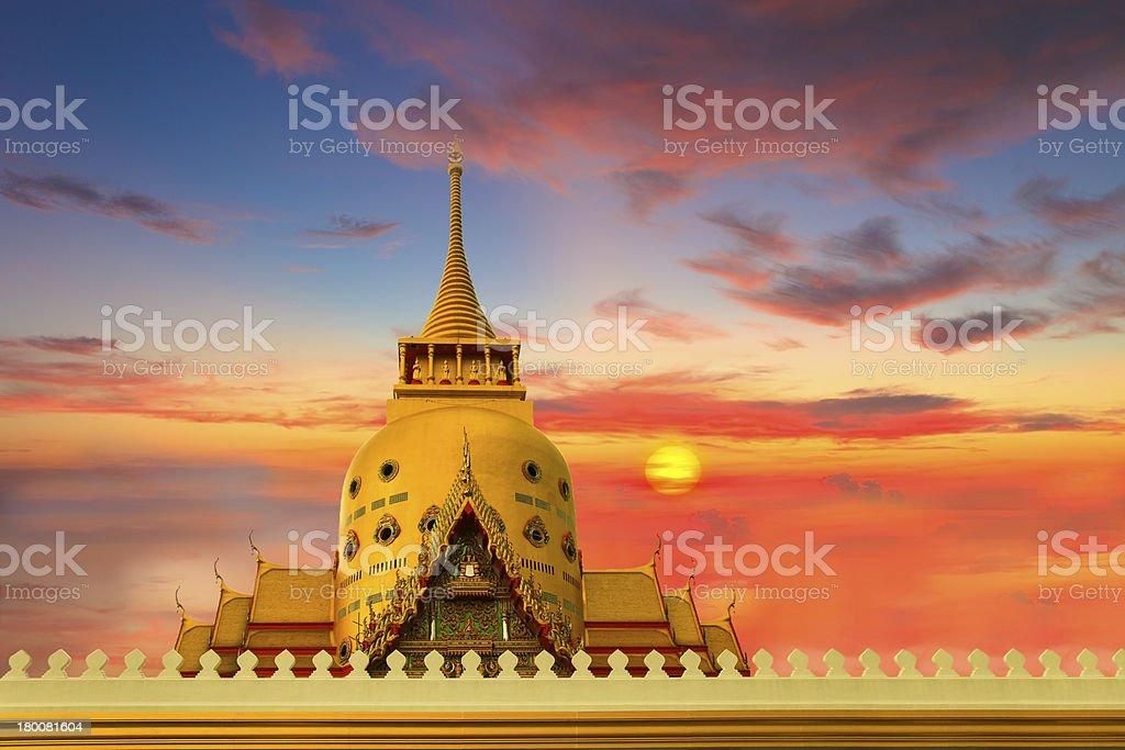 Murals at Wat Phra Kaew. royalty-free stock photo