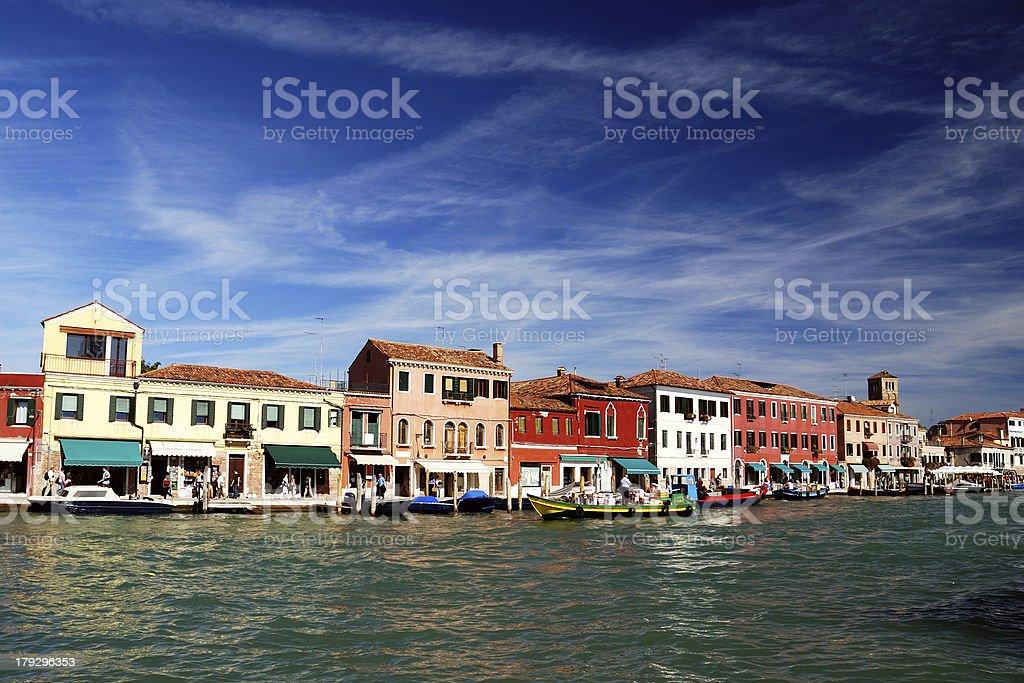 Murano Colors stock photo
