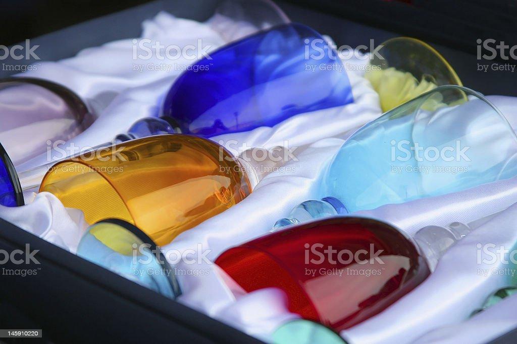 Murano Glasses stock photo