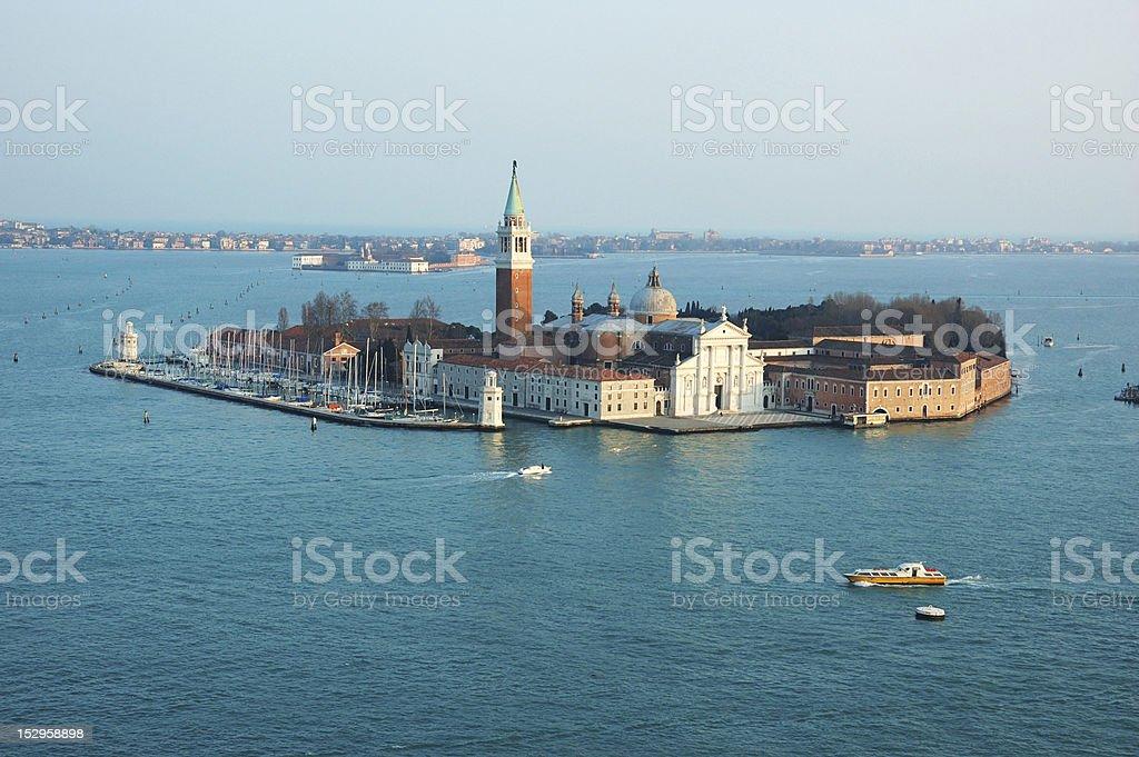 Murano island in the Venetian Lagoon, Italy stock photo