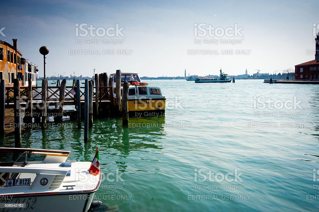 Murano Island stock photo