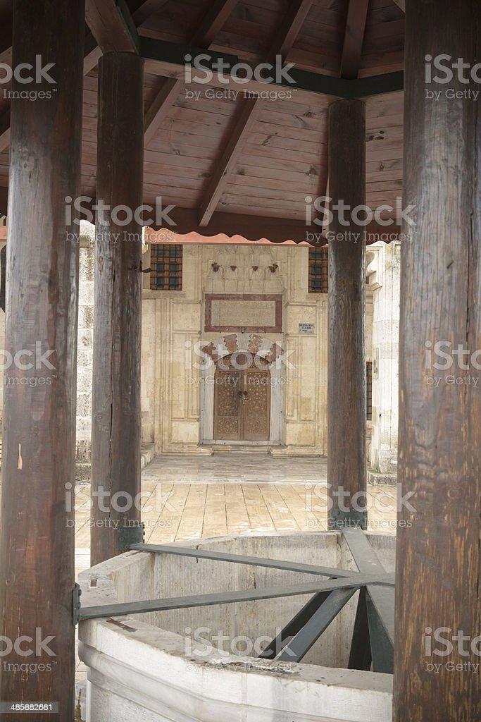 Muratpaşa Mosque stock photo