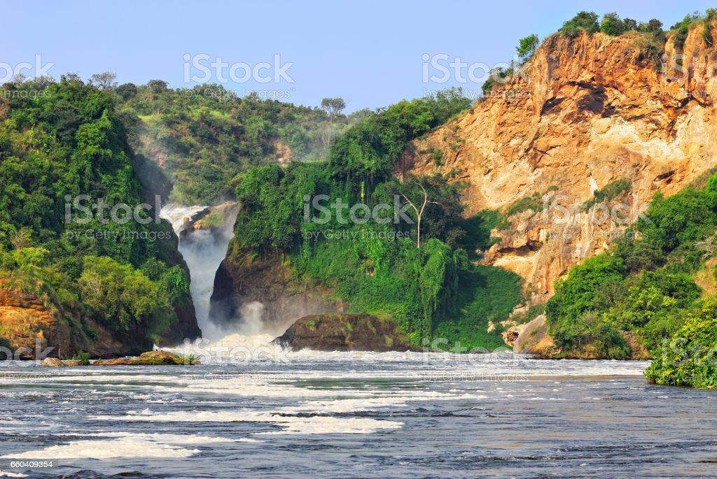 Murchison Falls stock photo