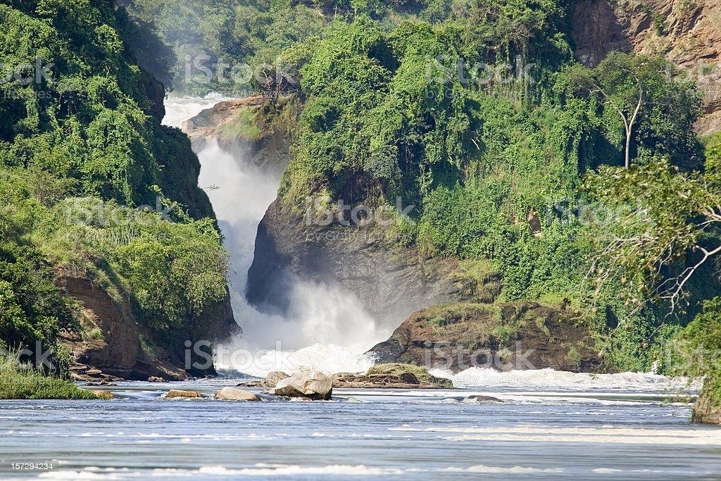 Murchison Falls, Uganda stock photo