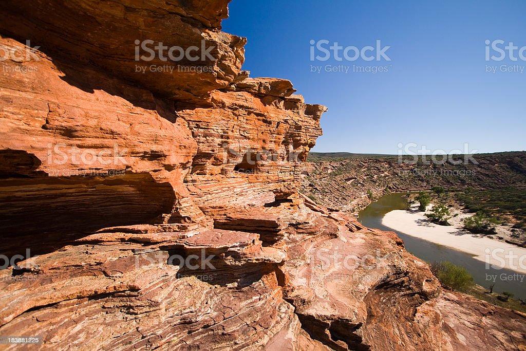 Murchison River Gorge stock photo