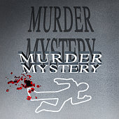 Murder Mystery Illustration