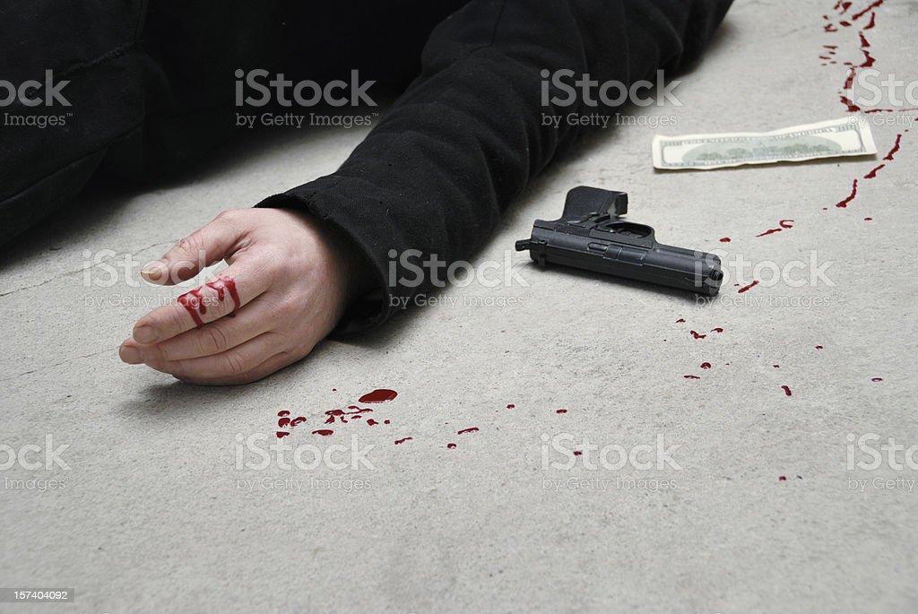 murder stock photo
