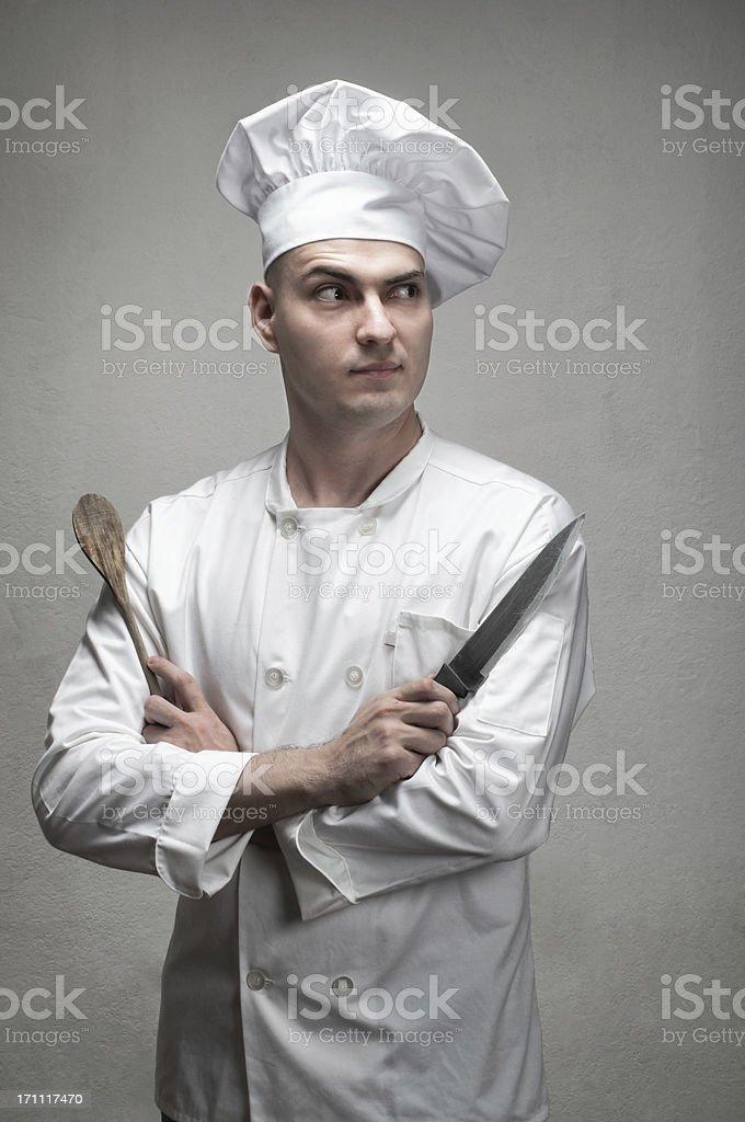 Murderus Chef stock photo