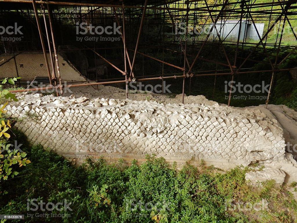 Muretto romano stock photo