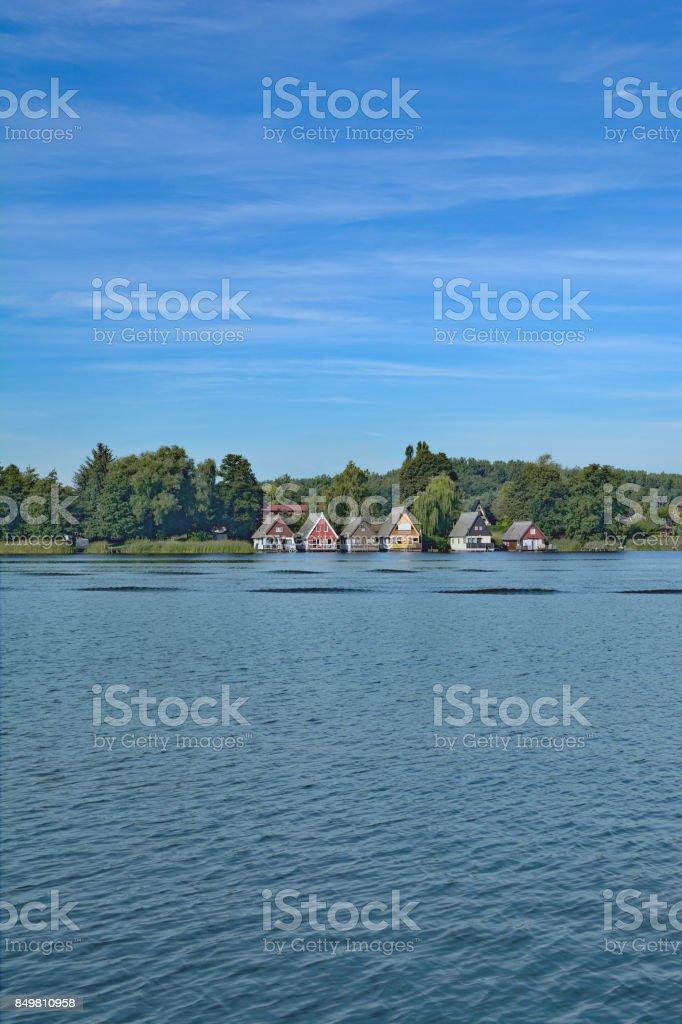 Muritz national Park,Mecklenburg lake district,Germany stock photo