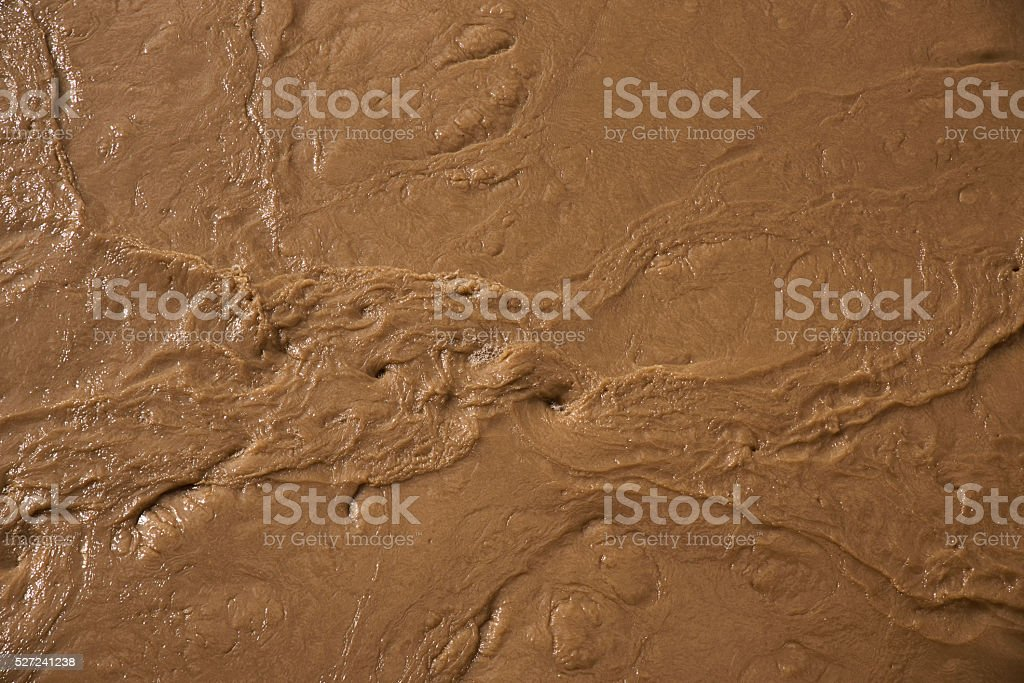 Murky waters stock photo