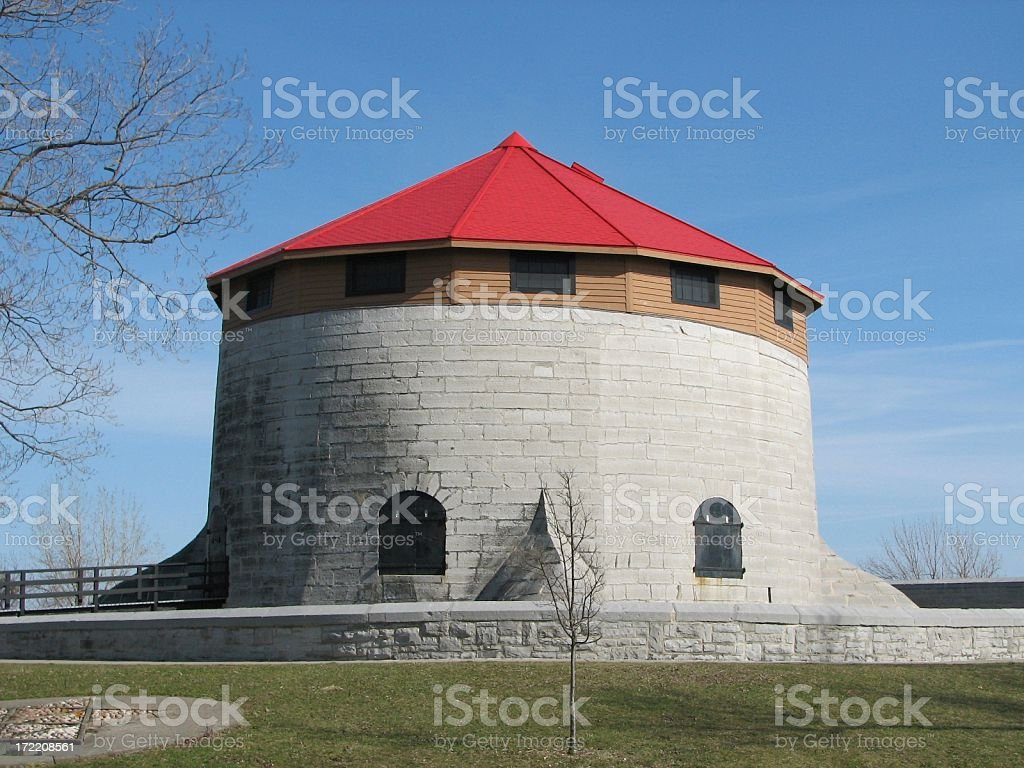 Murney Tower, Kingston Ontario royalty-free stock photo