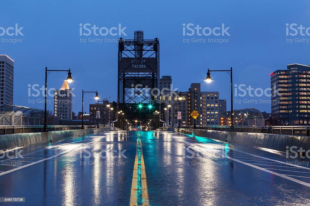 Murray Morgan Bridge stock photo