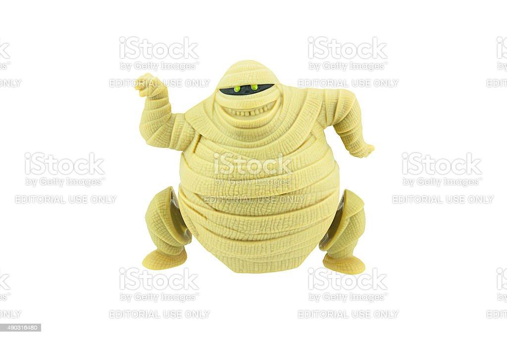 Murray mummy toy character from Hotel Transylvania stock photo