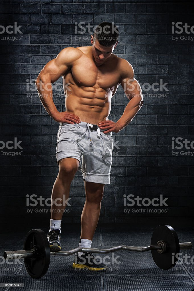 Muscle And Strength royalty-free stock photo