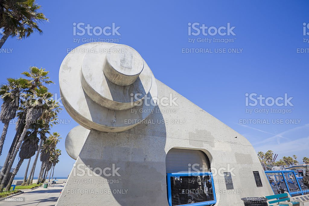 Muscle Beach Gym stock photo
