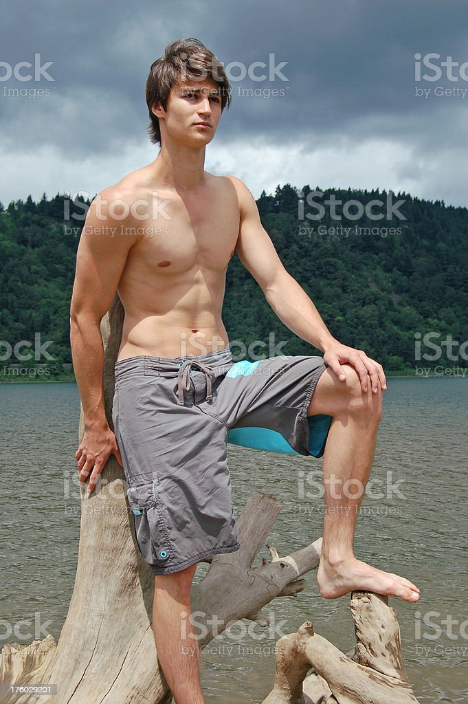 Muscle Boy royalty-free stock photo