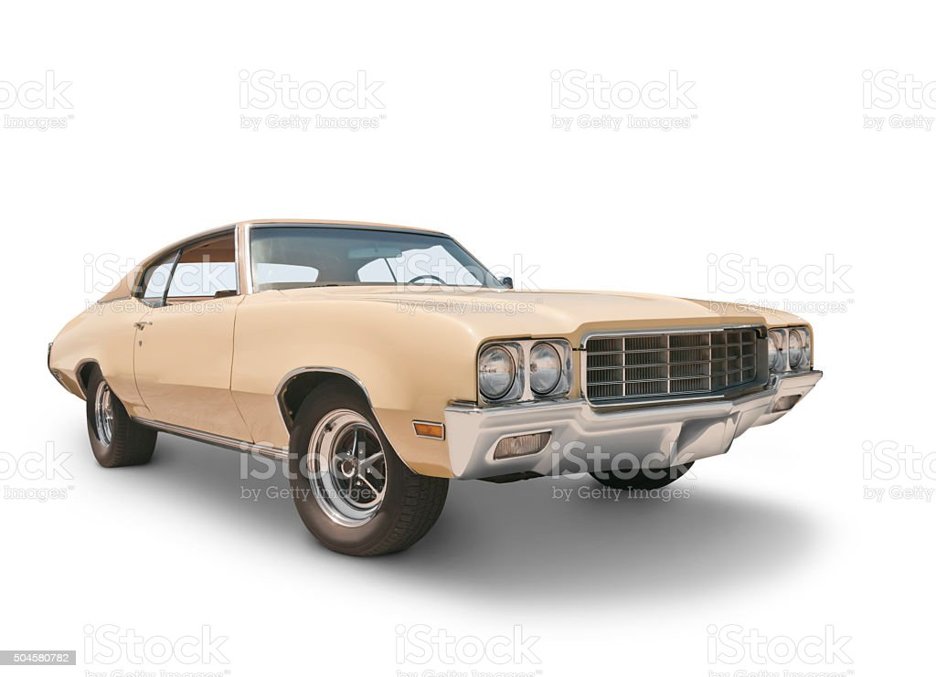Muscle Car - 1970 stock photo
