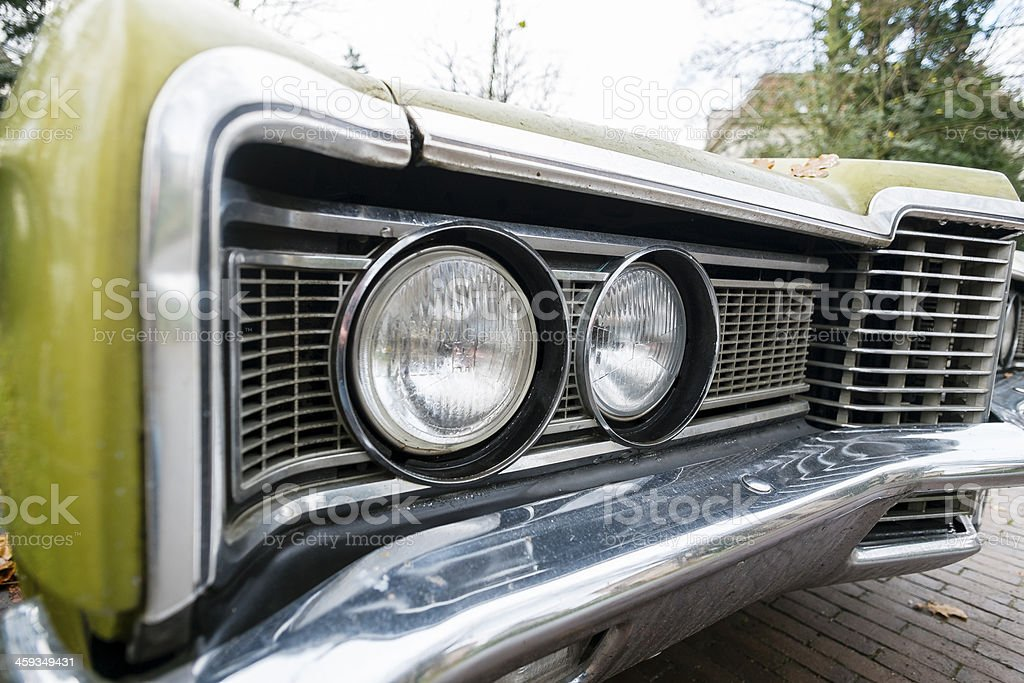 Muscle car detail royalty-free stock photo