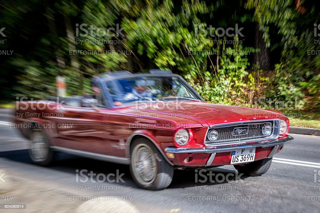 Muscle car Ford Mustang 283 stock photo