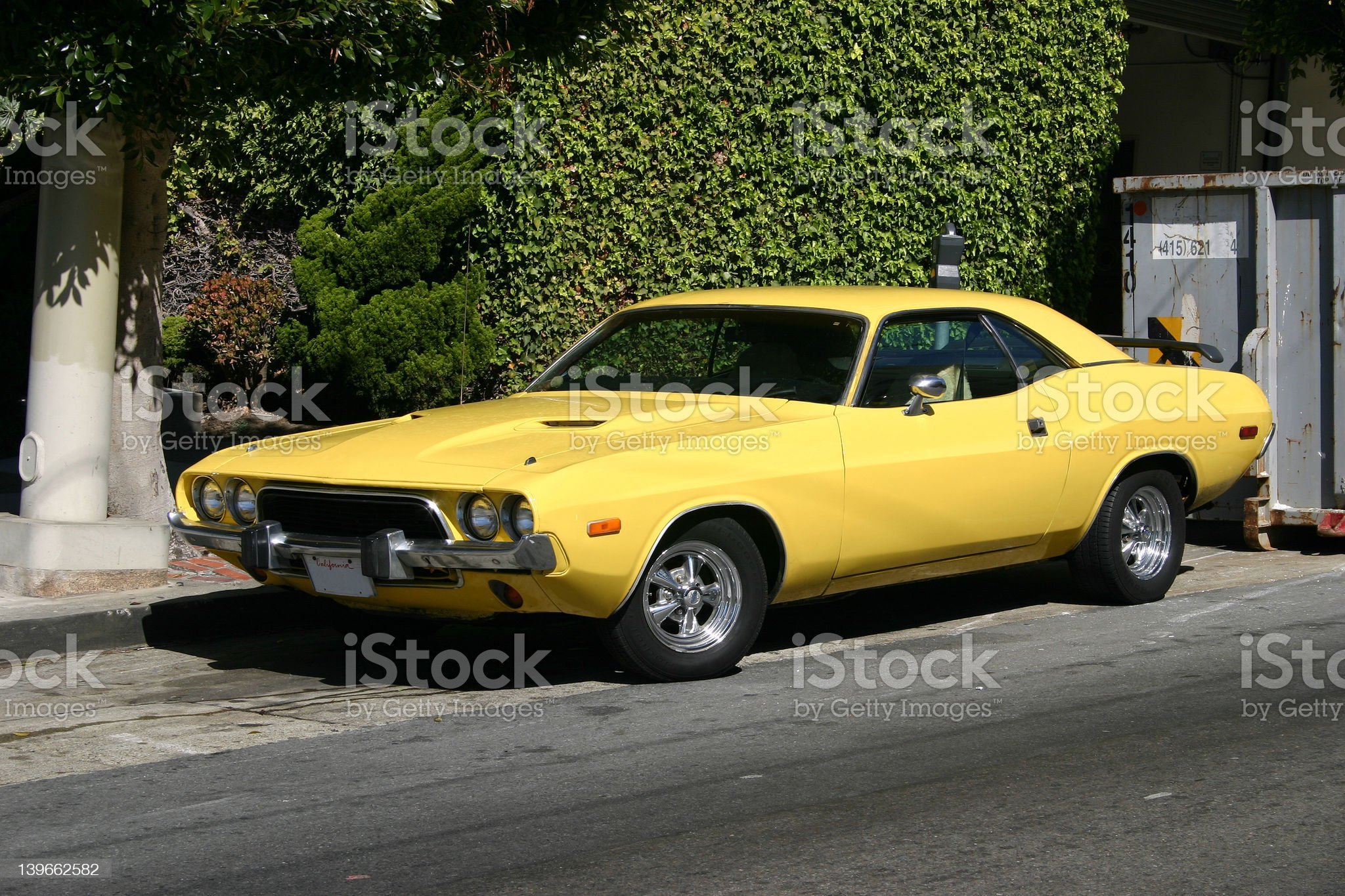Muscle Car royalty-free stock photo