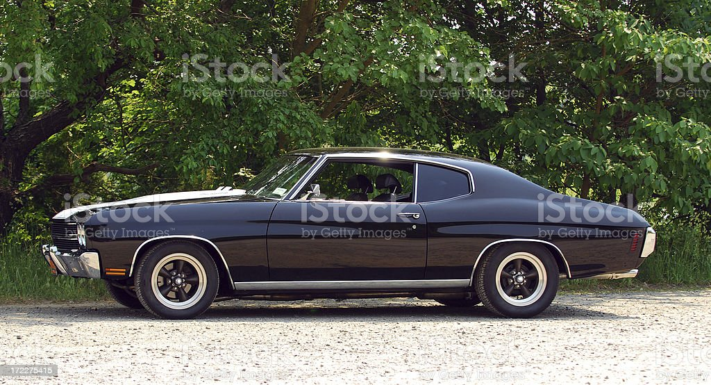 muscle car stock photo