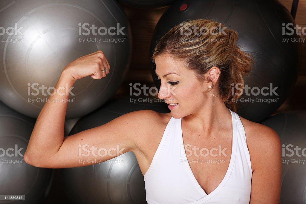 Muscle Development royalty-free stock photo