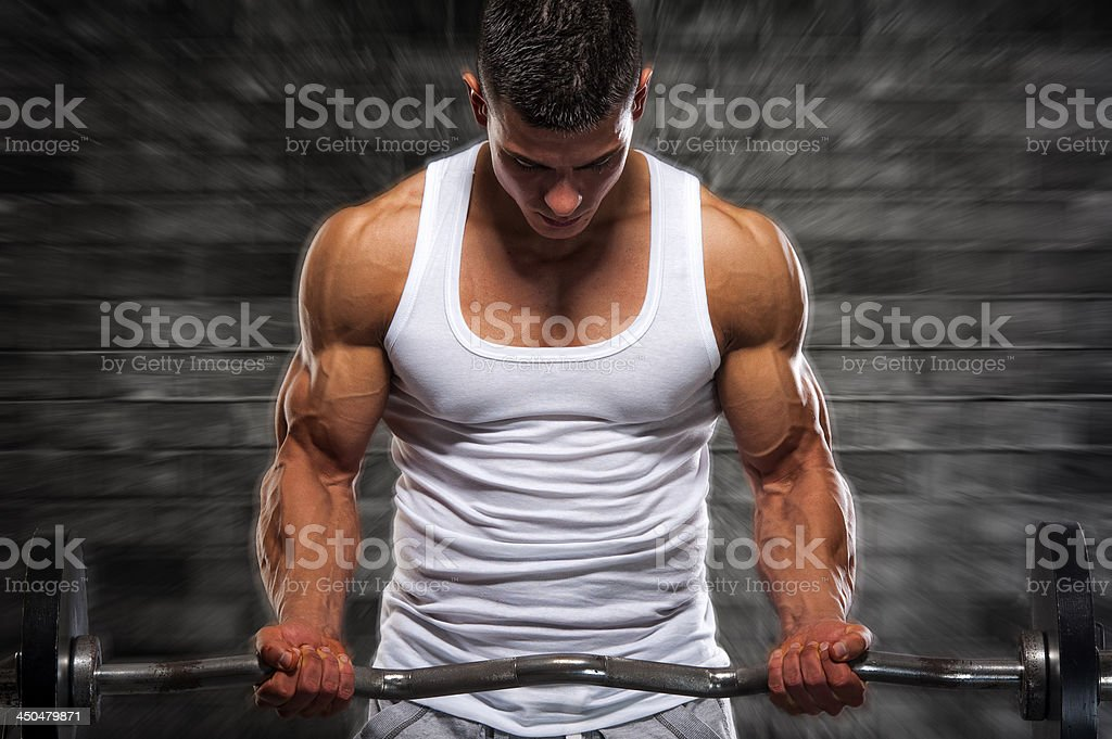Muscle Explosion royalty-free stock photo